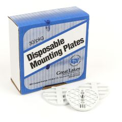 Great Lakes Mounting Plates for Denar and Twin Pin Hanau (180/pkg)