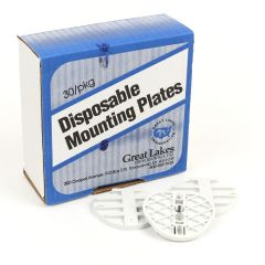 Great Lakes Mounting Plates for Denar and Twin Pin Hanau (30/pkg)