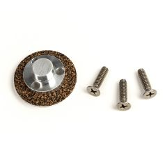 Button Assembly for Single Wheel Trimmers