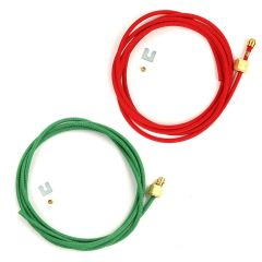 Red and Green Hoses