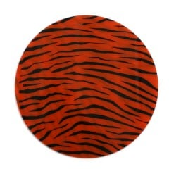 Tiger Patterned Biocryl 2mm/125mm - Round (10/pkg)