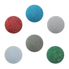Assorted Glitter Biocryl 2mm/125mm - Round (12/pkg)