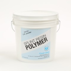 Splint Resin Polymer (5lb)