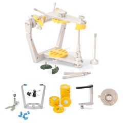 SAM® 3 Articulator Kit with Facebow, Transfer Stand and Axiosplit System