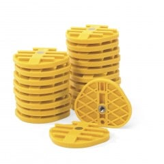 SAM® Mounting Plates - Yellow (20/pkg)