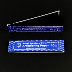 Blue Articulating Paper Strips (200/booklet)