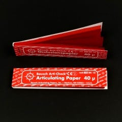 Red Articulating Paper Strips (200/booklet)