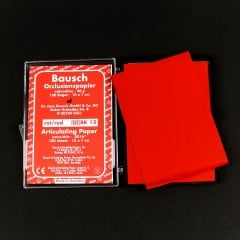 Red Articulating Paper Sheets (100/pkg)