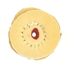 "1"" Chamois Buff  - 1"" diameter"