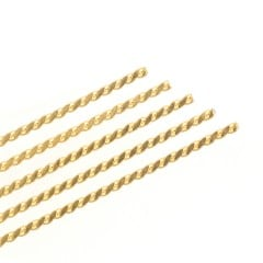 23K Gold Plated Supporting Wire (12/pkg)