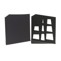 3-Frame Cut-out Photo Mount (50/pkg)