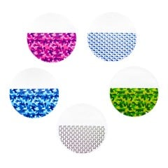 "Adventure Pack Patterned Clear Retainer Material 0.040"" (1mm)/125mm - Round (25/pkg)"