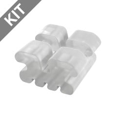BioTru® Ceramic .018 - MBT Kit (20 Brackets/kit)