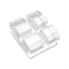 BioTru® Sapphire .018 - MBT Upper Central Left (1 Bracket/pkg)